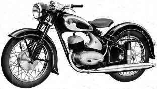 suche dkw motorrad