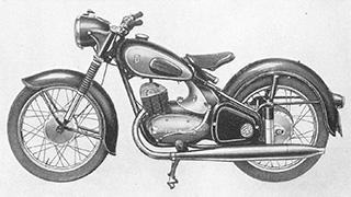 DKW Motorrad : DKW RT 200/2